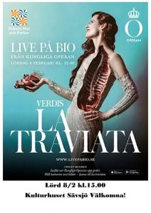 Livesänd opera från Stockholm La Traviata