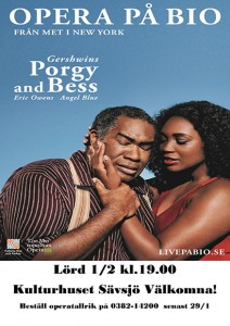 Livesänd opera Porgy & Bess