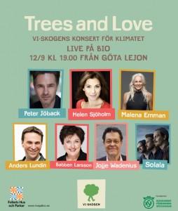 Trees & Love - En hoppfull konsert för klimatet