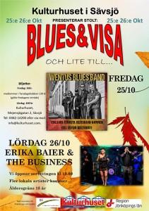 Blues & Visa och lite till... Erika Baier & The Business